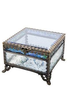 dd5e62d77b6 Blue Skies Footed Jewelry Box