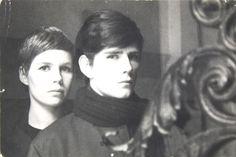 Stuart Sutcliffe Stuart with Astrid Kirchherr Stuart Sutcliffe, The Beatles Story, Harry Nilsson, We Are Family, How To Stay Awake, Ringo Starr, Love At First Sight, Paul Mccartney, John Lennon