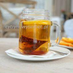 Rozgrzewająca herbata pomarańczowa