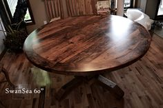 round tables made from reclaimed barn wood   Reclaimed Ontario Barnwood Round Tables