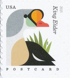 King Eider stamps - mainly images - gallery format