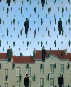 Rene Magritte - Gonconda 1953