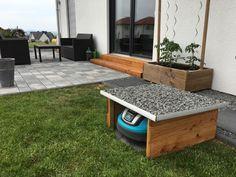 garage f r den automower 305 selbst bauen oder kaufen garage automover pinterest. Black Bedroom Furniture Sets. Home Design Ideas