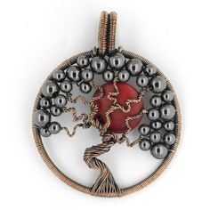 Neat tree of life pendant