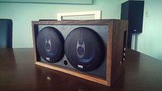 Homemade Speaker Electronics  http://www.instructables.com/id/Homemade-Speaker-Electronics/