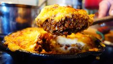 Mexican Shepherds Pie. Real comfort food with a gentle warming chilli kick.