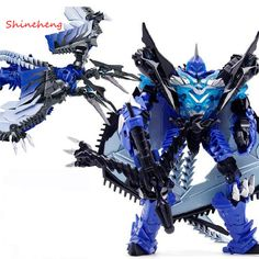 SHINEHENG New Arrival Deformation Movie 4 Mount Strafe Robot Action Figure Toy ABS #holidaydecorations