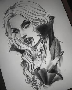 She's still available  Mail me if interested in getting her tattooed at the Monster Ink Convention