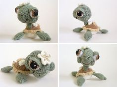 cutest crochet baby sea turtle ever! Pattern will be available at peggytoes.etsy.com
