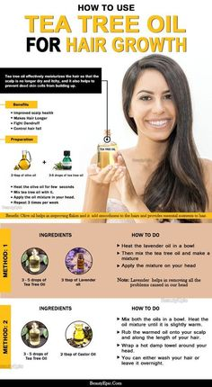 Hair Remedies Different Ways To Use Tea Tree Oil To Promote Hair Growth - Tea tree oil is the most safest oil for our hairs as it do not have any harmful properties in it. Here is how to use tea tree oil for hair growth. Make Hair Longer, How To Make Hair, Hair Loss Essential Oils, Hair Loss Remedies, Thinning Hair Remedies, Moisturize Hair, Oily Hair, Hair Regrowth, Hair Care Tips