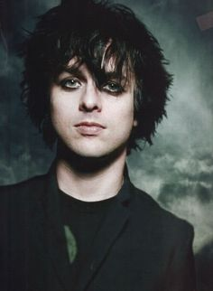 BILLIE JOE ARMSTRONG  I'd like to take this picture/opportunity to appreciate his hair...