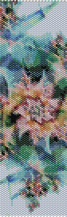 Peyote Pattern - Abstraction 67 by TheAbstractBeader on Etsy