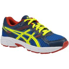 timeless design d0333 0262f Asics Gel-Contend 3 GS (Boys  Youth) ( 55) ❤ liked on Polyvore featuring  shoes, athletic shoes, royal blue, asics footwear, electric blue shoes,  asics, ...