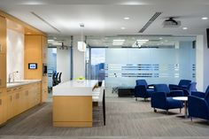 SSDG Interiors developed a new office space in Vancouver, British Columbia for global commercial real estate firm Colliers International. Columbia, Work Cafe, Lunch Room, Break Room, Commercial Real Estate, Kitchenette, Coffee Shop, Vancouver, Flooring