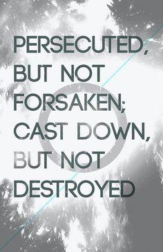 2 Corinthians 4 9