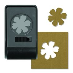 Sizzix - Tim Holtz - Alterations Collection - Paper Punch - Tattered Flower, Large at Scrapbook.com