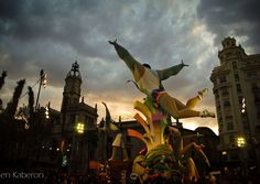 Las Fallas festival in Valencia, Spain, is like a mix between Mardi Gras and Burning Man.