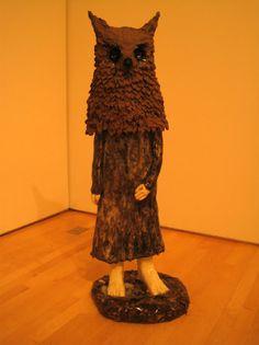 Owlchild by Swedish artist, Klara Kristalova.
