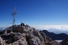 On the summit of Dachstein, 2.996 m
