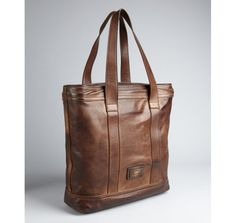 Salvatore Ferragamo chocolate leather 'Venna' vintage bag
