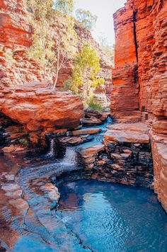 Weano Gorge, Karijini National Park, Kimberley Western Australia, Australia Travel, Wonderful Places, Beautiful Places, Park Landscape, Geology, Les Oeuvres, Mother Nature, Travel Inspiration