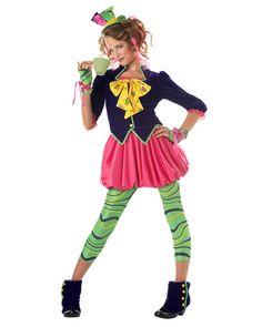 Girls  Mad Hatter Costume