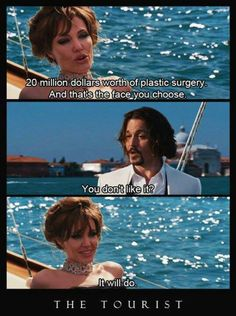 He had a plastic surgery and he turned into johnny depp! what else do you want Elise? Johnny Depp Family, Johnny Movie, Johnny Depp Fans, Johnny Depp Movies, Here's Johnny, Tv Show Quotes, Movie Quotes, Angelina Jolie Movies, Jolie Pitt