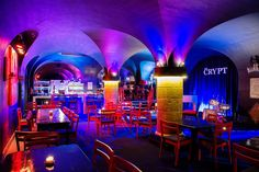 The Crypt Jazz restaurant OPEN: Tuesday to Saturday - 1 Wale Street c/o Wale and Adderley Streets (St George's Cathedral) The Places Youll Go, Great Places, Cape Town Tourism, Restaurants, Jazz Bar, Live Jazz, Le Cap, Cool Jazz, Jazz Club