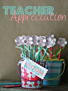 Pencil Flower Bouquet - Teacher Gift / Teacher Appreciation - Teacher Thank you