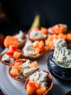 Lidl, Party Snacks, Cantaloupe, Sushi, Fruit, Ethnic Recipes, Christmas, Food, Xmas