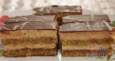 Kdo má rád ořechy, tak ten neodolá tomuto skvělému receptu. Jednoduchý a skvělý! Czech Recipes, Ethnic Recipes, Czech Desserts, Traditional Cakes, Homemade Cakes, Food Dishes, Nutella, Baked Goods, Sweet Recipes