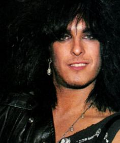 Nikki Sixx Adorable Its That Cocky Look That I Love So Much Too