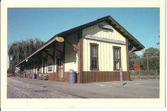 Temple Station Reading Railroad Blue Mountain Hamburg Pennsylvania Postcard PA | eBay