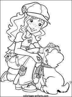 coloriage de chien pour enfants