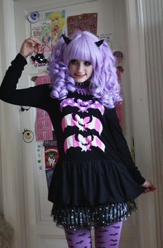 pastel goth clothing | She also has many other Sweet Lolita outfits too which I love but ...