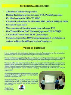 A Brief Profile about Mr. A V MANIVANNAN, The Principal Consultancy of Sri Padhmam Consultancy & Training.