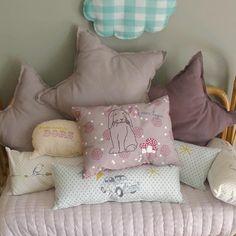 los cojines más dulces para decorar la habitacion de tu bebé en Belandsoph.com