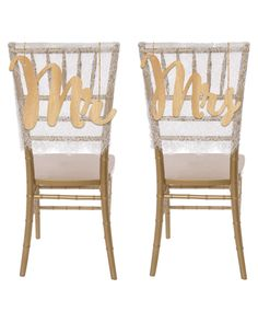 These rustic wood hanging wedding chair signs are the perfect decorative touch to the chairs at your reception for a truly unique and custom wedding. These wedding chair signs come with two small hole