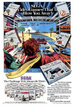 I know that this is the Sega Master System and not the Genesis, but it's still awesome.