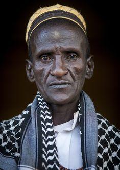 Afar Tribe Elder, Afambo, Afar Regional State, Ethiopia   por Eric Lafforgue