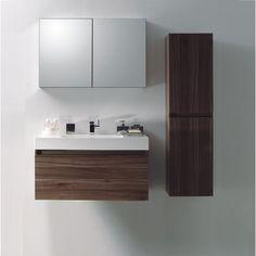 Bathroom Cabinets Modern ada-compliant libera vanity - contemporary - bathroom vanities and