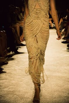 Marchesa Spring / Summer 2014 collection shown at New York Fashion Week- must weigh a ton with all those beads