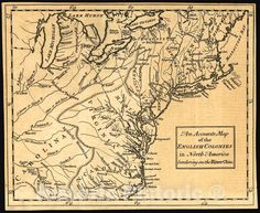 You Know Where, Where To Go, William Johnson, Colonial America, Ohio River, Historical Maps, American History, North America, Vintage World Maps