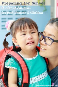 Preparing for School Brings Mixed Emotions for both Parents and Children