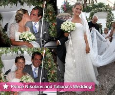 Prince Nikolaos and Tatiana Blatnik's Wedding in Greece With European Royal Families