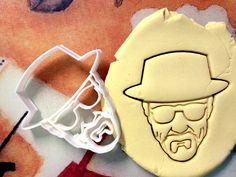 Breaking Bad Heisenberg Cookie Cutter great for by CookiePrints, $9.99