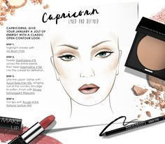 Happy Birthday Capricorn!  Give your January a jolt of energy with a classic open contour look.  #HowTo courtesy of #Makeupforever #Sephora #makeuptutorial