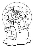 Snowman Coloring pages for kids Snowman Coloring Pages, Colouring Pages, Coloring Pages For Kids, Christmas Printables, Christmas Snowman, Winter Holidays, Bunt, Holiday Fun, Smurfs