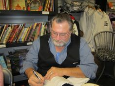 Author event at Mysterious Galaxy.