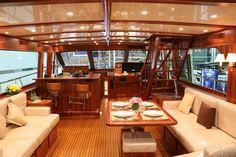 Hunt Nears Completion Yachts. plan homes. apartment interior design ideas. interior architecture & design. contemporary interior designers.